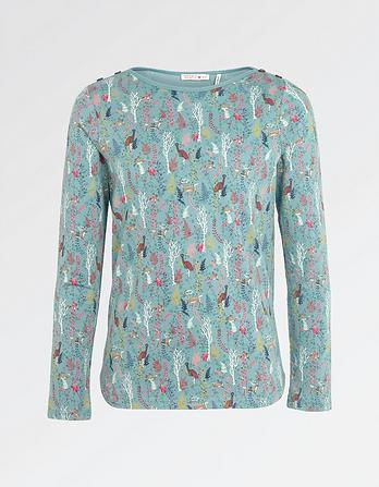 Enchanted Forest Print T-Shirt
