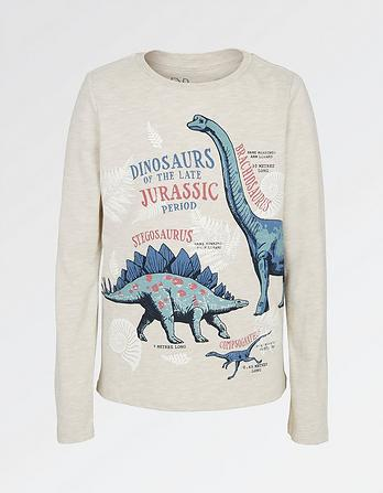 Natural History Museum Dinosaurs Graphic T-Shirt