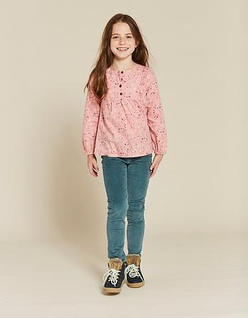 Lucy Star Print Blouse
