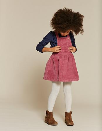 Evie Cord Pinafore Dress