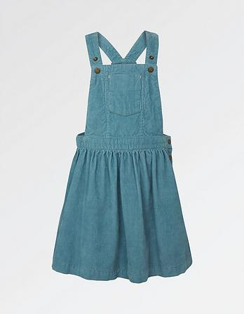 Evie Cord Pinafore Dress