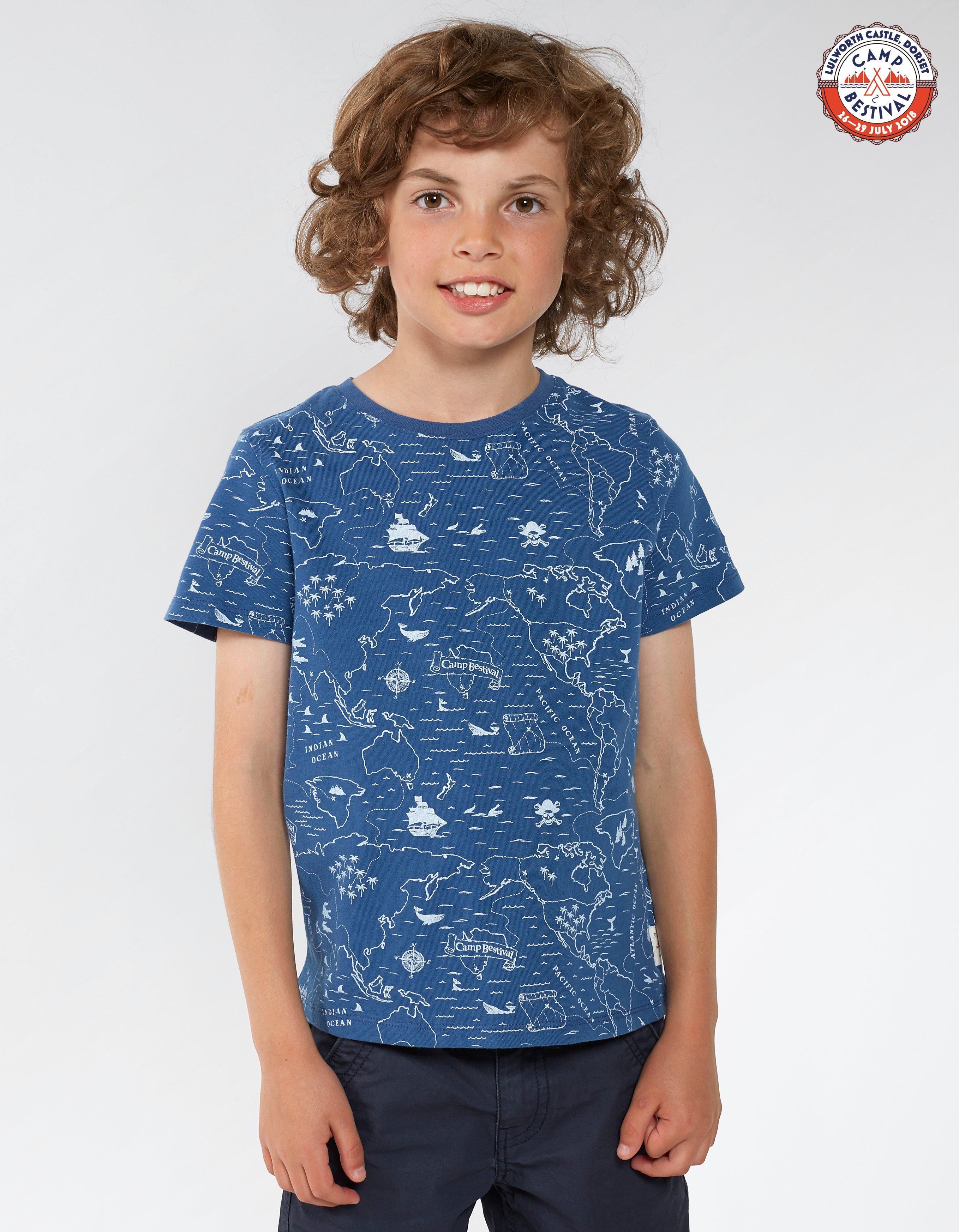 Camp Bestival Map T-Shirt