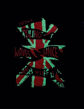 Union Jack Surf T-Shirt