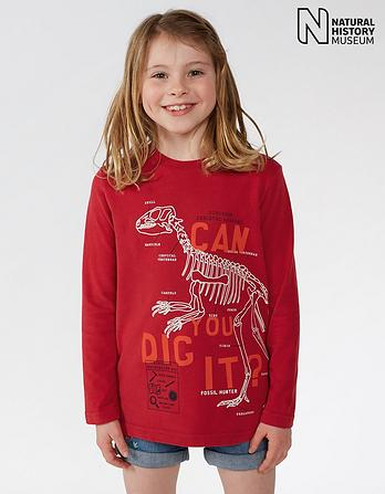 Natural History Museum Can You Dig It T-Shirt