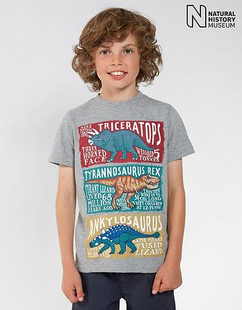 Natural History Museum Dino Facts T-Shirt