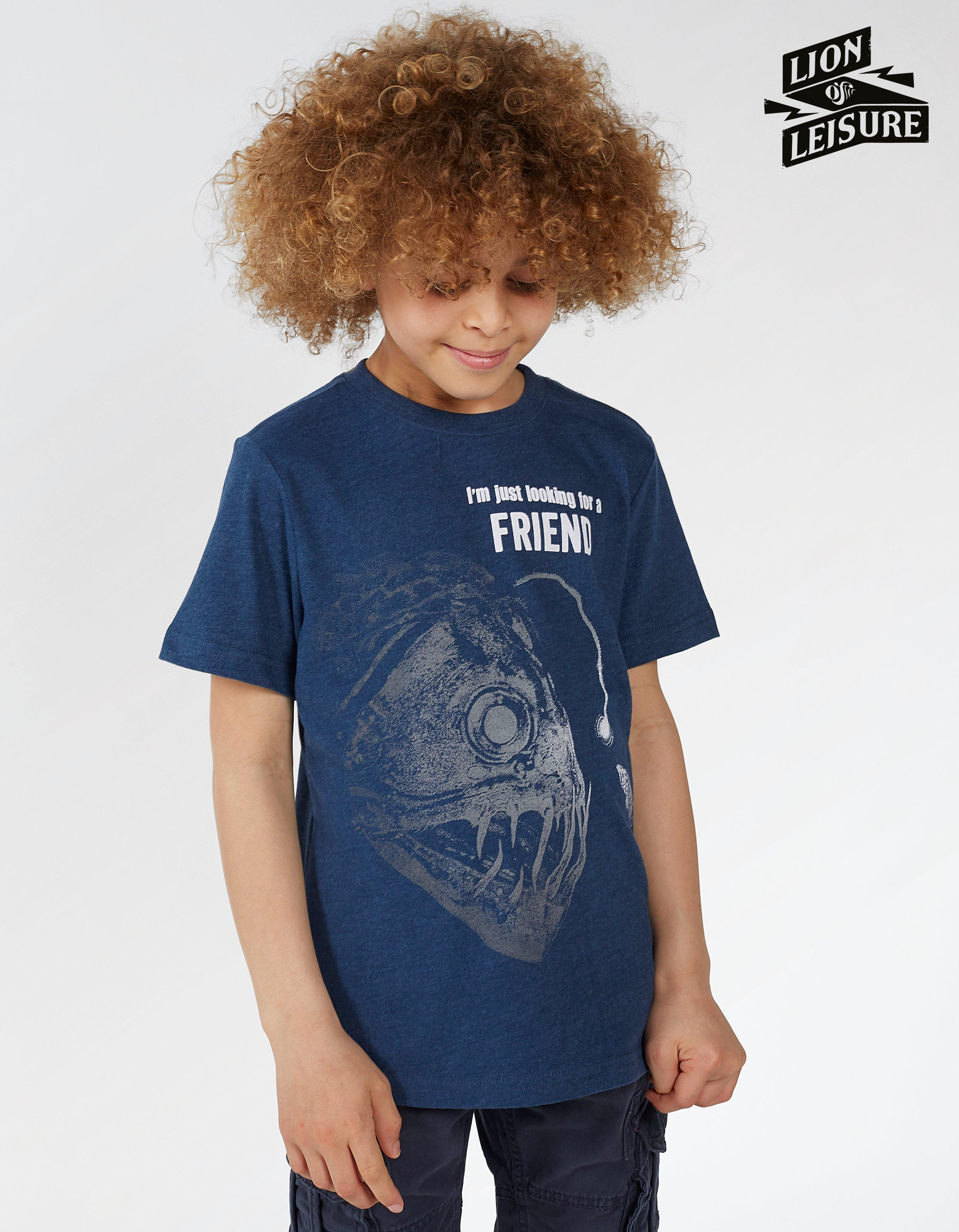 Lion of Leisure Angler T-Shirt