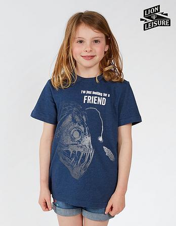 Lion of Leisure Angler T-Shirt