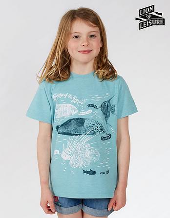 Lion of Leisure Fish T Shirt