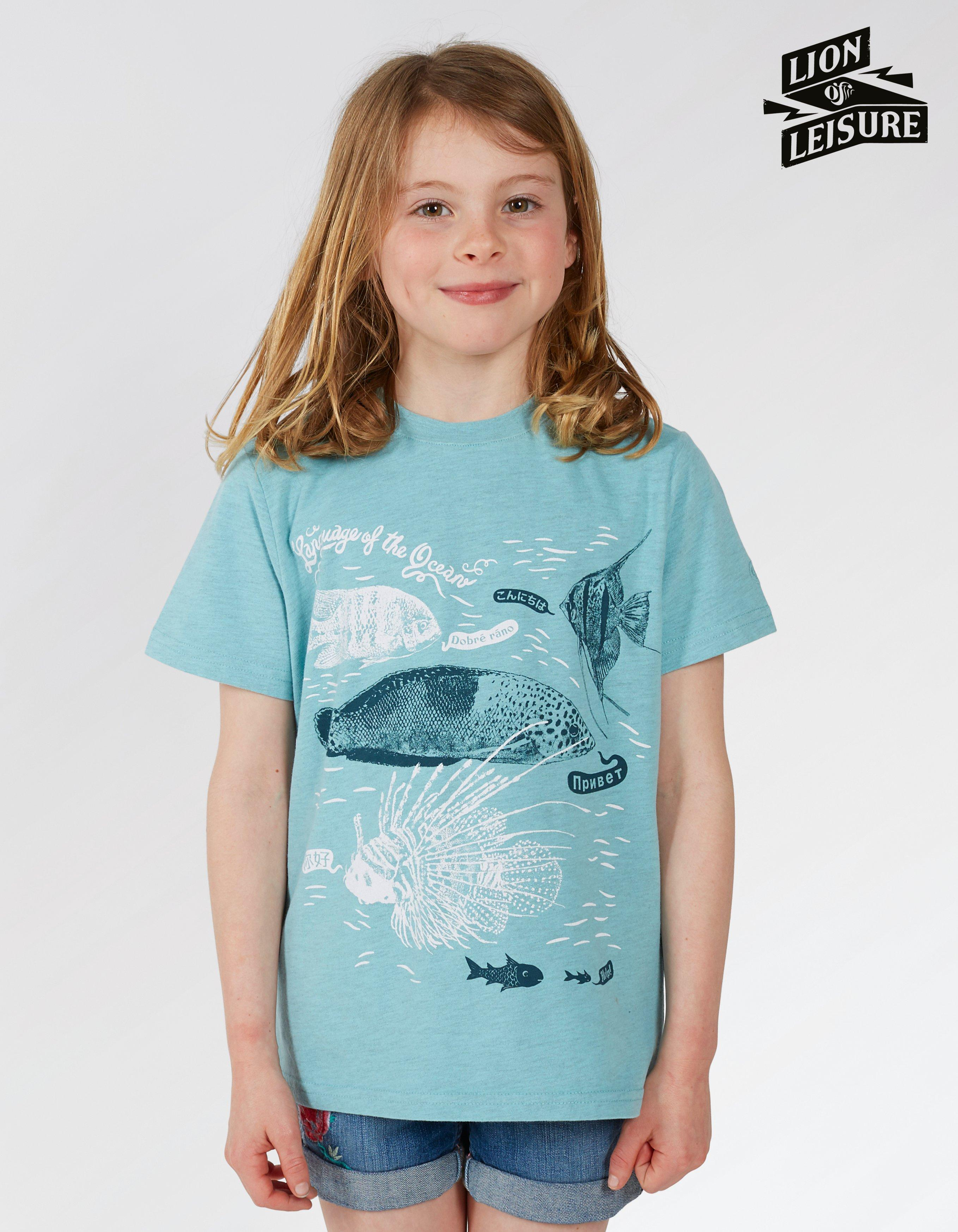 Lion of Leisure Fish T Shirt