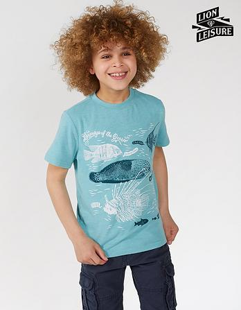 Lion of Leisure Fish T-Shirt