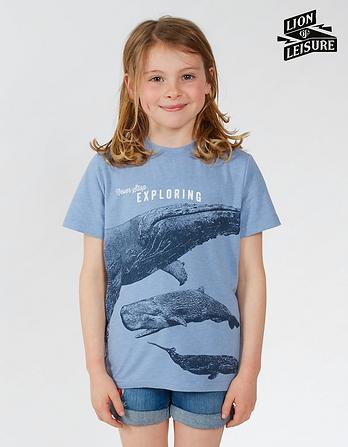Lion of Leisure Whale T-Shirt