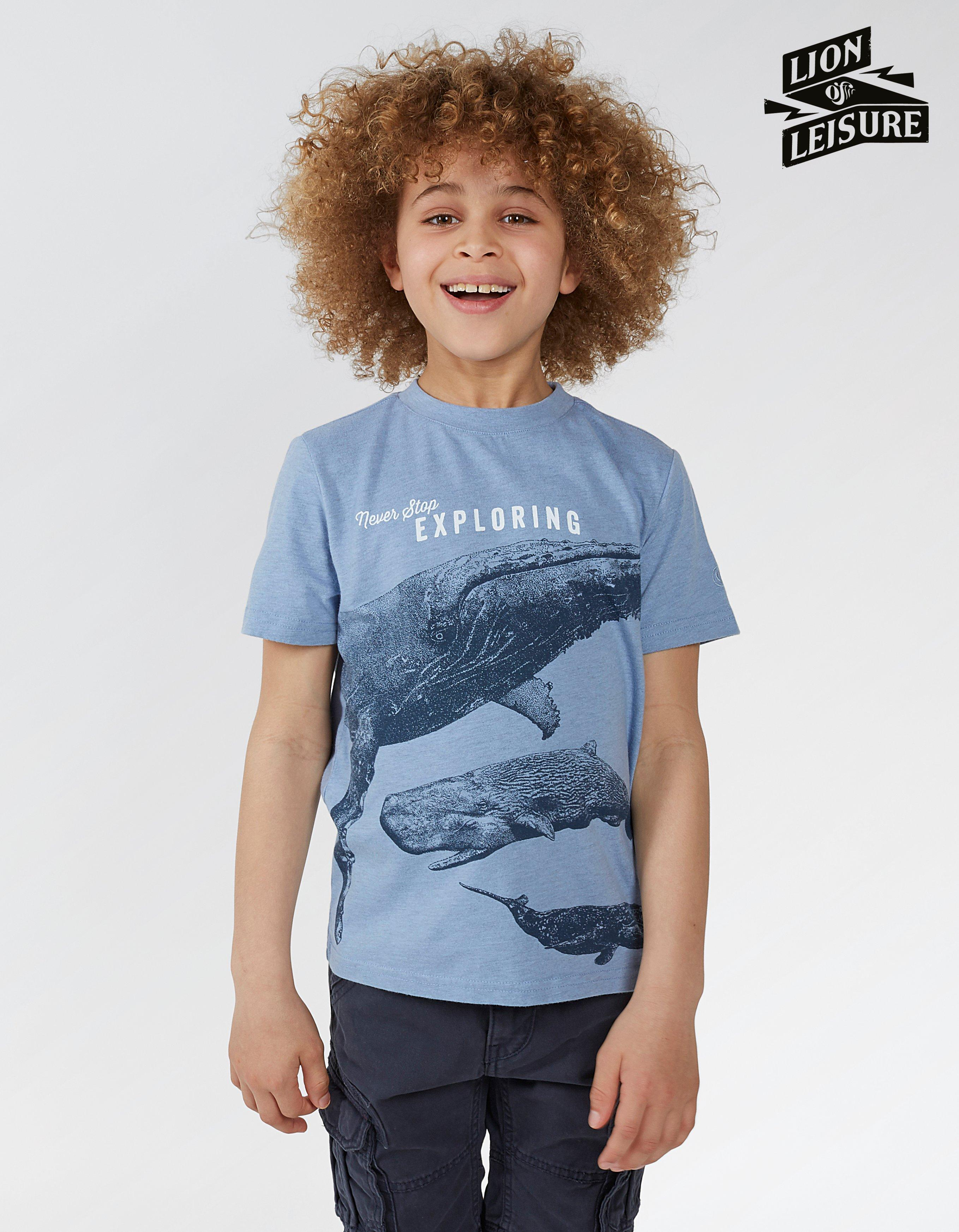 Lion of Leisure Whale T Shirt