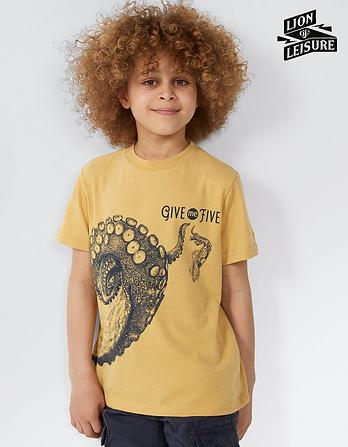 Lion of Leisure Octopus T-Shirt