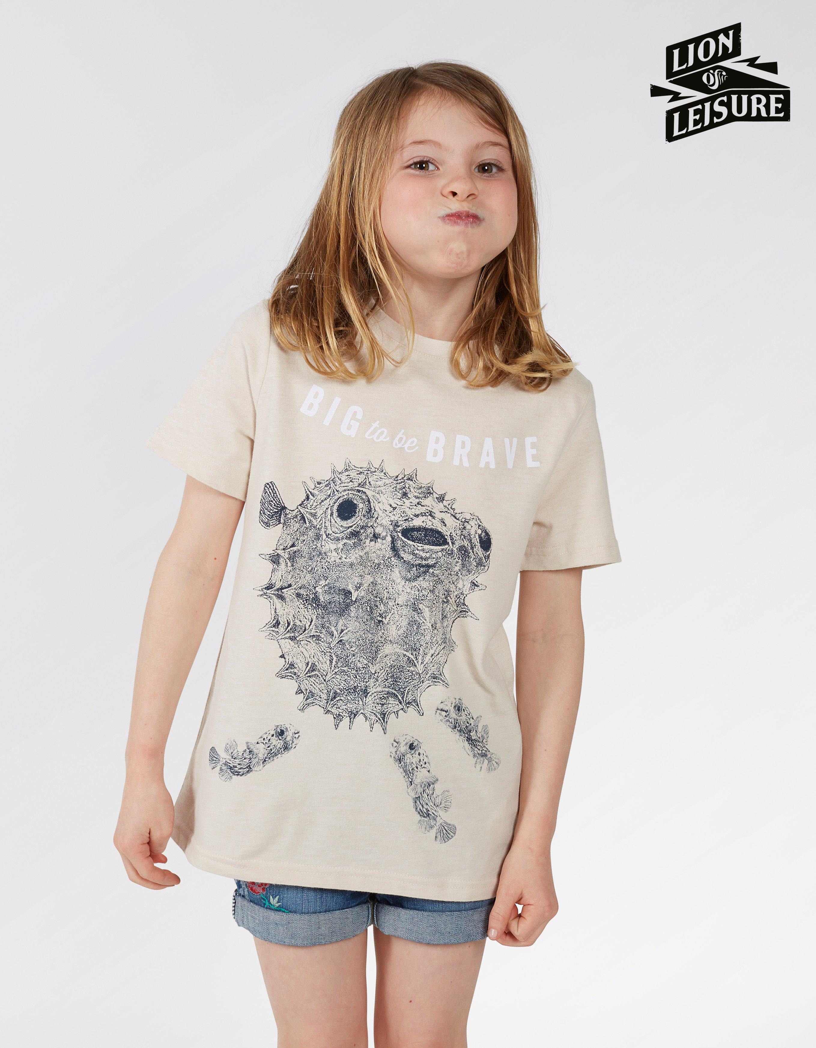 Lion of Leisure Blowfish T-Shirt