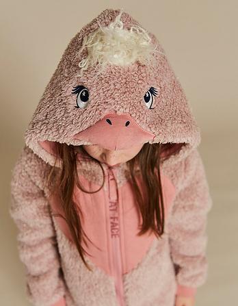 Elsie Emu Fleece Onesie