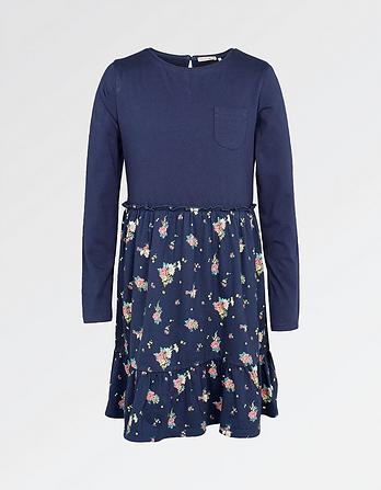 Olivia Flower Print Dress