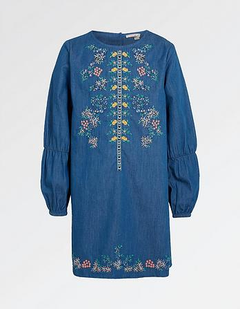 Ava Embroidered Dress