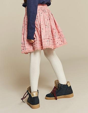 Star Print Skirt