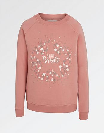 Shine Bright Crew Neck Sweatshirt