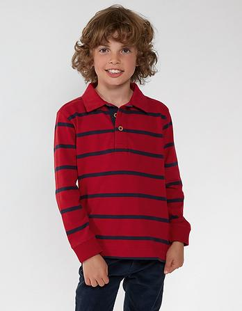 Fine Stripe Rugby Shirt