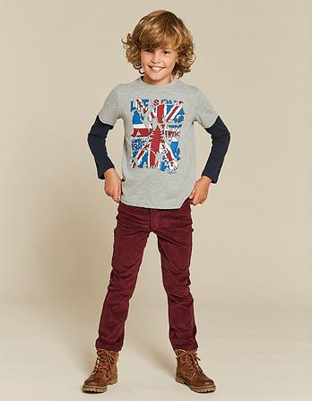 Union Jack 2 in 1 T-Shirt