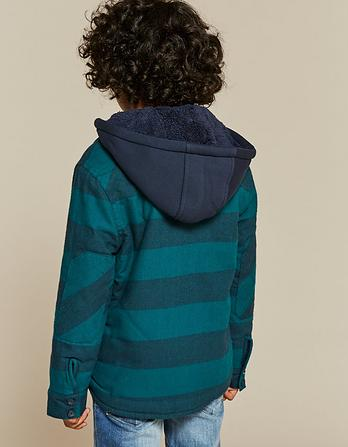 Stripe Shacket
