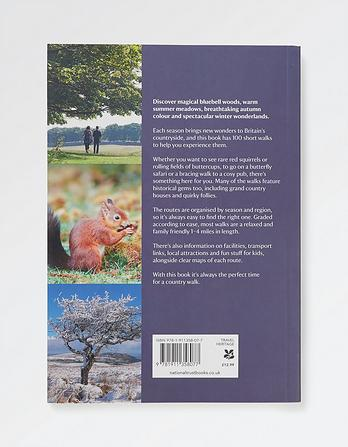 Great British Seasonal Walks Book