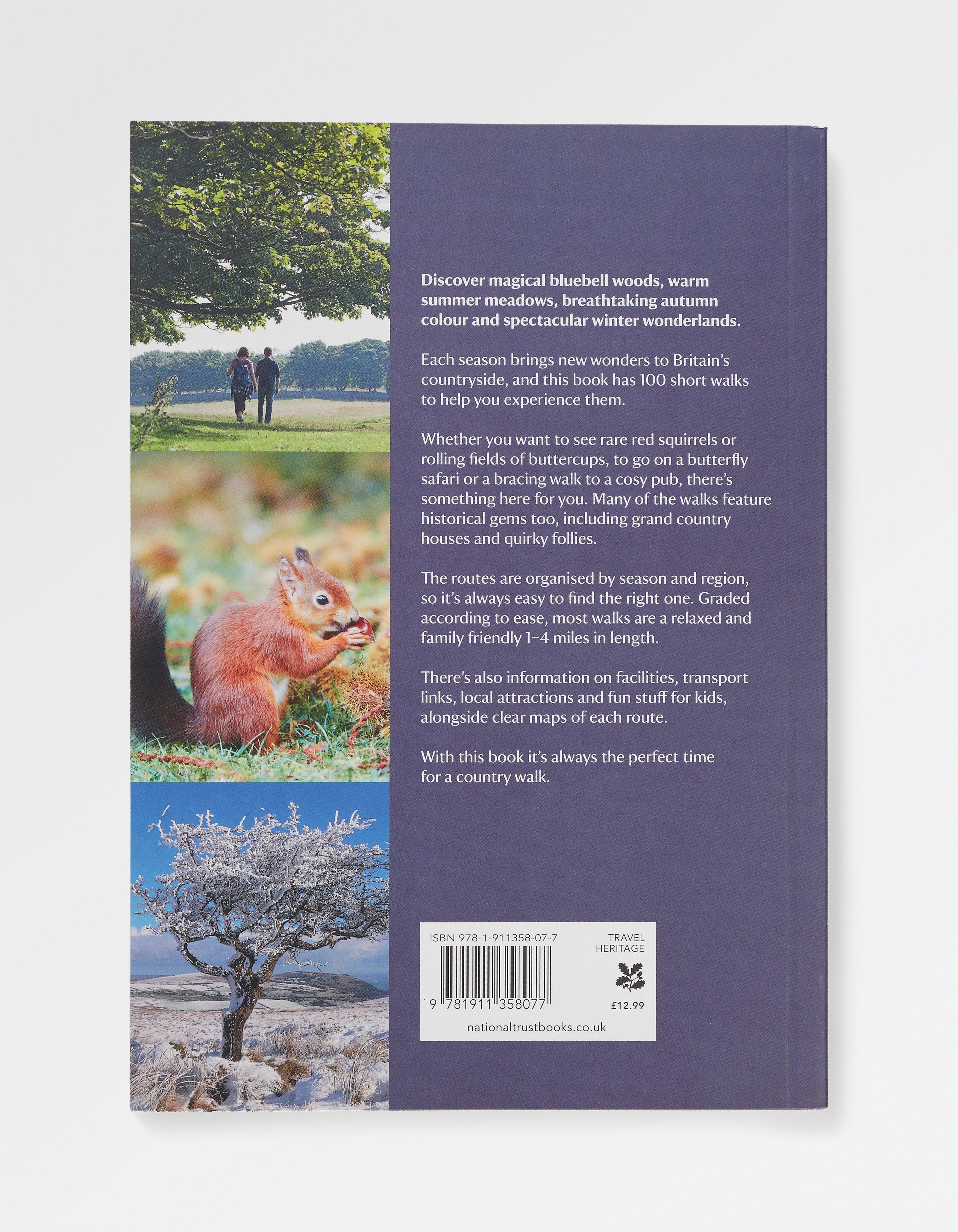 Great British Seasonal Walks Book