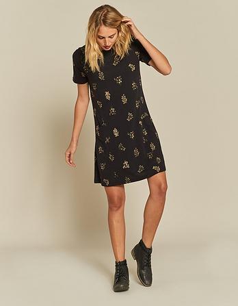 Simone Crochet Floral Dress