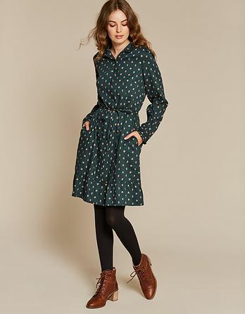 Charlie Opulent Paisley Shirt Dress