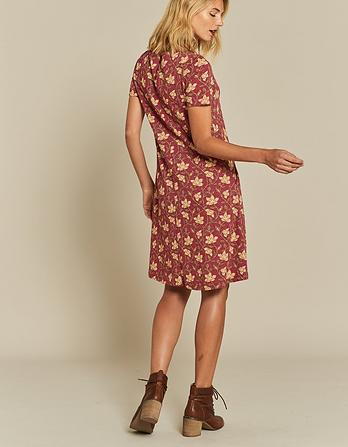 Simone Stitchwork Floral Dress