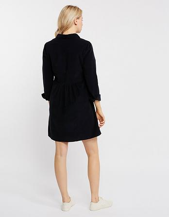 Lena Cord Shirt Dress