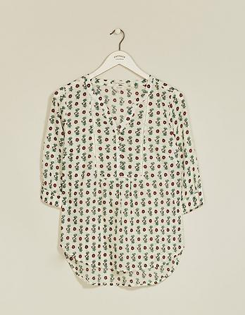 Poppy Bexley Floral Organic Cotton Popover