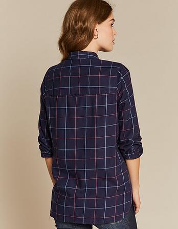 Tilly Check Longline Shirt
