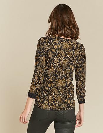 Kyra Crochet Floral Top