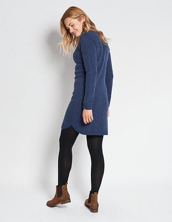 Claire Cable Sweater Dress