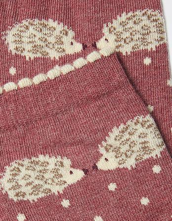 One Pack Hedgehog Spot Socks