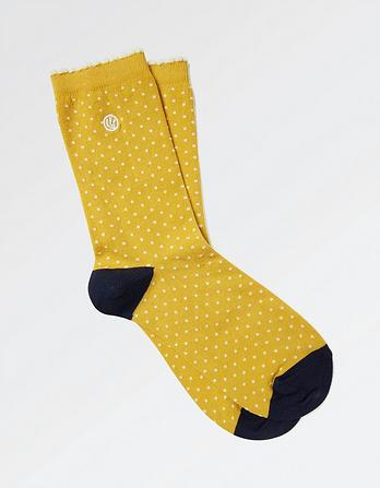 One Pack Mini Spot Socks