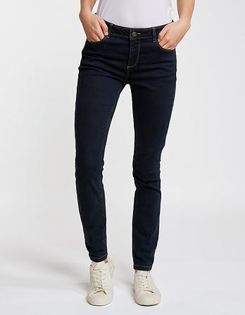 Overdye Blue Jeggings