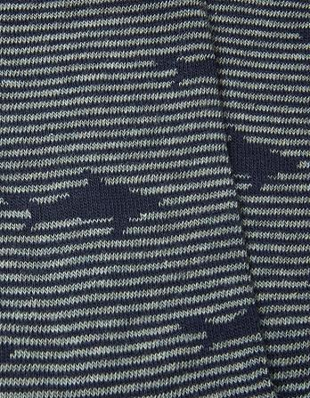 One Pack Shark Stripe Socks