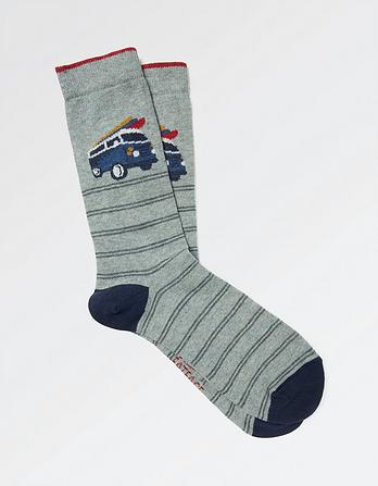 One Pack Camper Socks