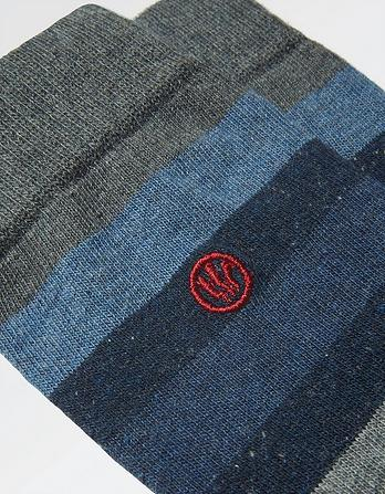 One Pack Herbie Stripe Socks