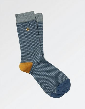 One Pack Jack Stripe Socks