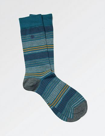 One Pack Charlie Stripe Socks