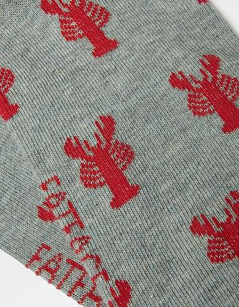 One Pack Lobster Socks