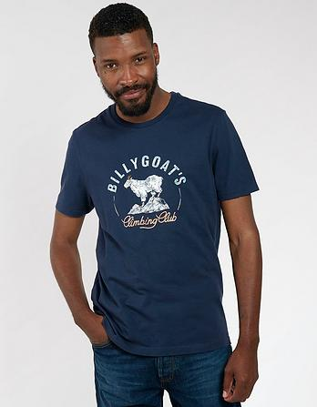 Billy Goats Organic Cotton Graphic T-Shirt