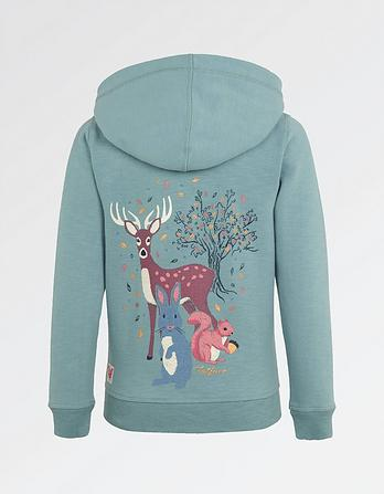 Enchanted Forest Zip Thru Hoody