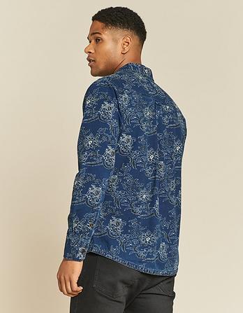 Helsby Print Shirt