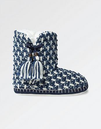 Poppy Tassle Boot