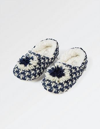 Edith Pom Slippers